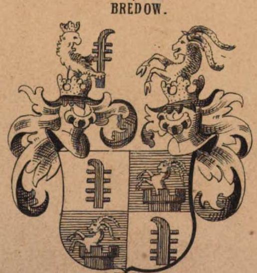 Wappen der v. Bredow aus dem Siebmacher.