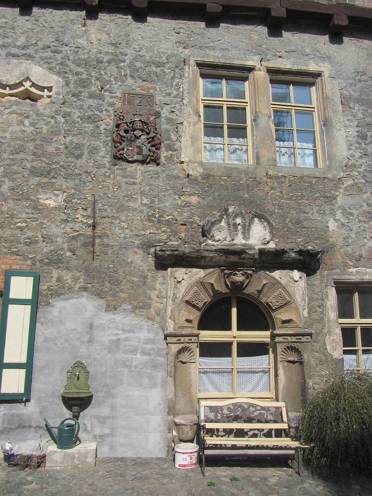 Innenhof Burg Schlanstedt