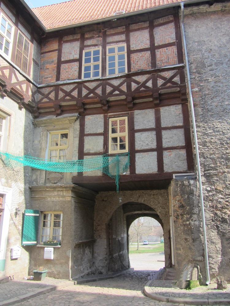 Innenhof Burg Schlanstedt 3