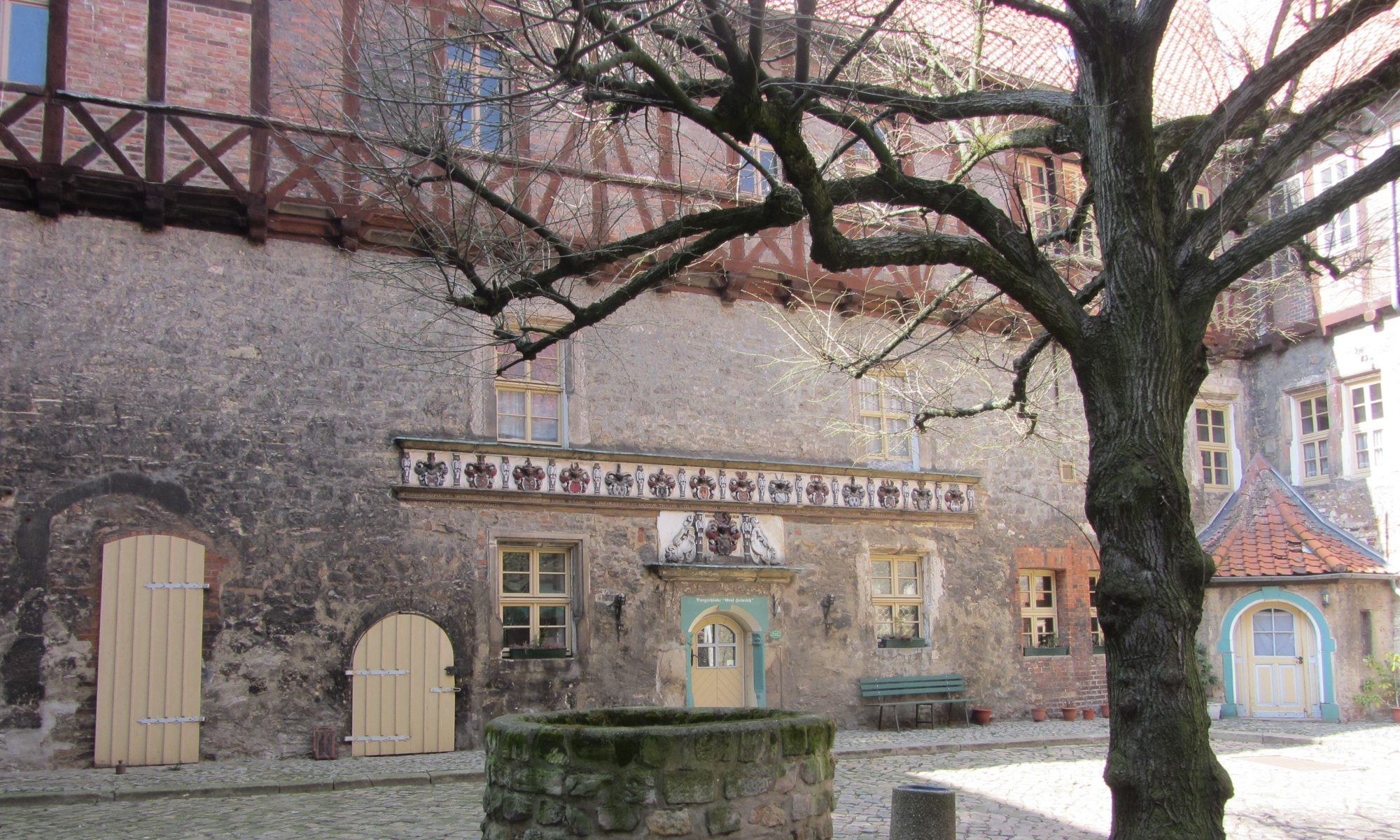 Innenhof Burg Schlanstedt 4